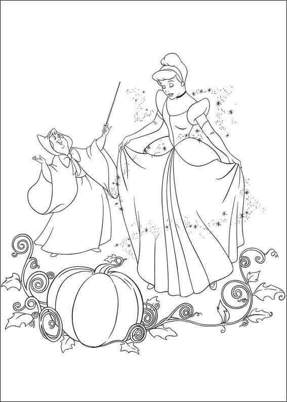 Kostenlose Ausmalbilder Ausdrucken Prinzessin Tiere Disney Bilder